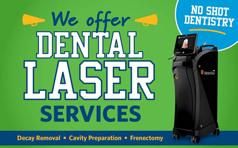 Offer Kids Laser Dentistry No Shot Dentistry